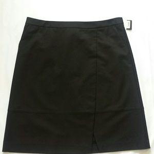 Halogen from Nordstrom Black Skirt Size 16 NWT